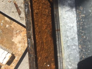 air conditioner drain pan