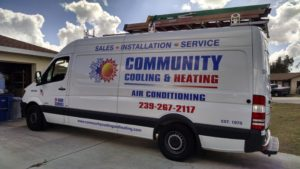 Community Cooling new flagship service truck